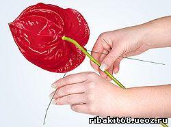 Флористический рукав своими руками 96